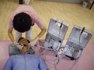 歯科往診機材